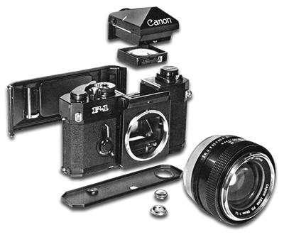 Canon F-1 system
