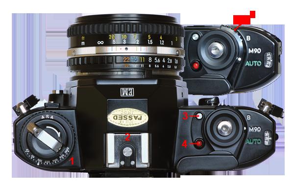 camaracoleccion es colecci n e historia de las c maras nikon slr rh camaracoleccion es Nikon EM Photography Nikon EM vs Pentax Me