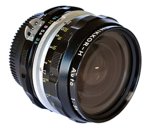 Nikkor 28mm f/3.5 modificado